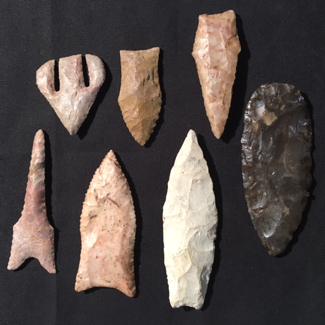 American Indian arrowhead #points #artifacts #Indian #arrowheads